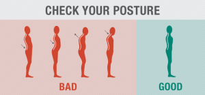 special image to encourage better posture